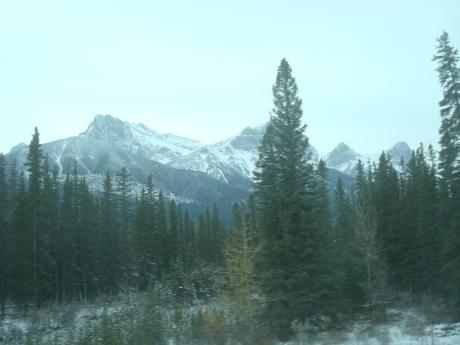 The scenery around Banff...